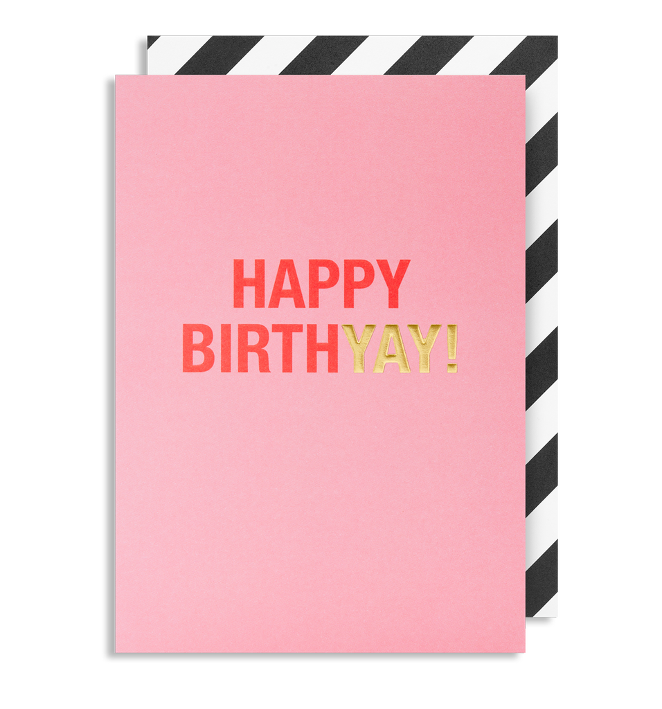 Happy Birthyay! Greeting Card
