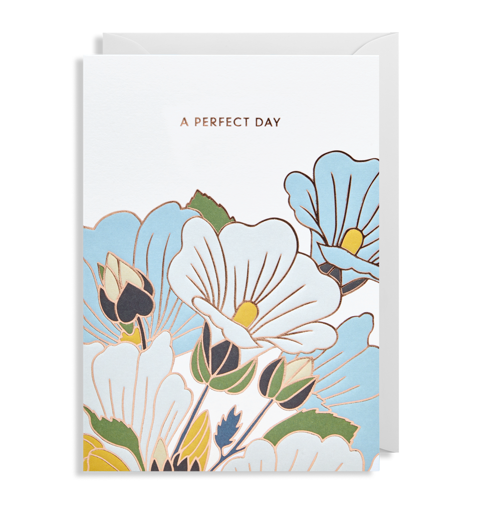 A Perfect Day Greeting Card - Lagom Design