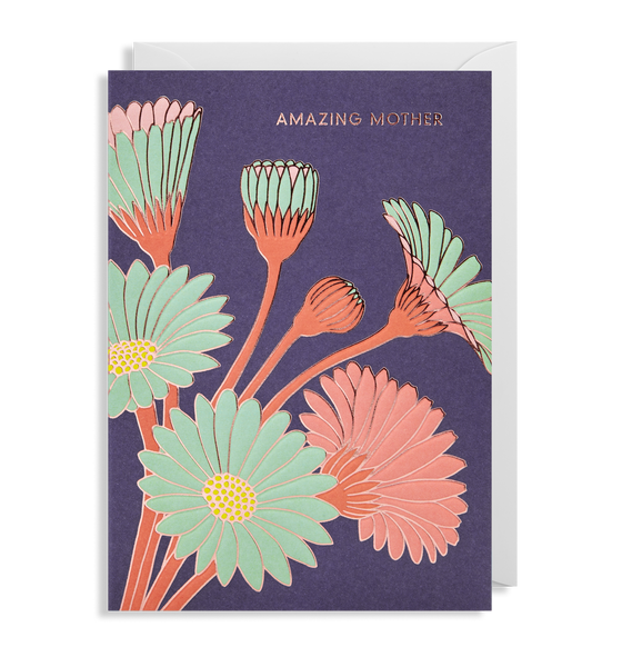 Amazing Mother Greeting Card - Lagom Design