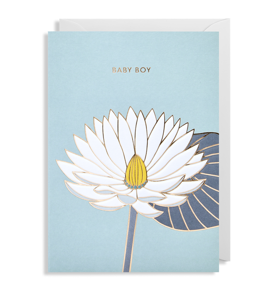 Baby Boy Greeting Card - Lagom Design