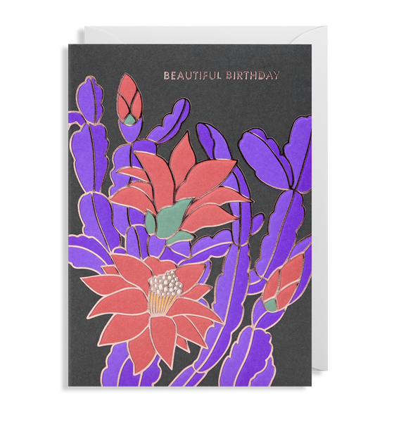Beautiful Birthday Greeting Card - Lagom Design