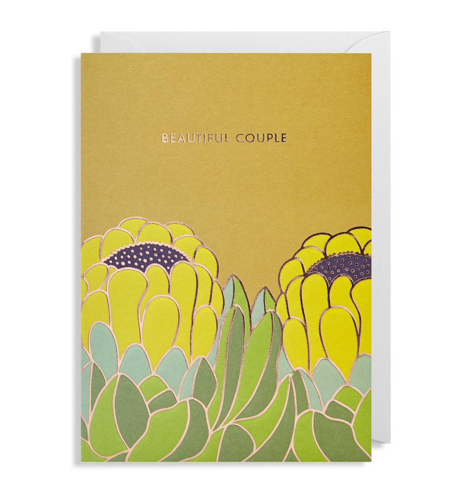 Beautiful Couple Greeting Card - Lagom Design