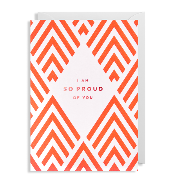I'm so Proud of You Greeting Card - Lagom Design