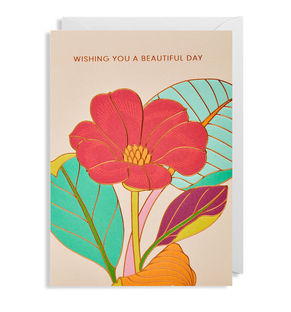 Wishing You A Beautiful Day Greeting Card By Hanna Werning Lagom