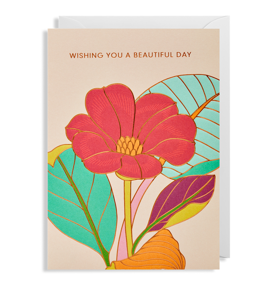 Wishing you a Beautiful Day Greeting Card