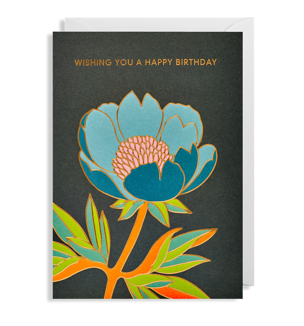 Wishing you a Happy Birthday Greeting Card - Lagom Design