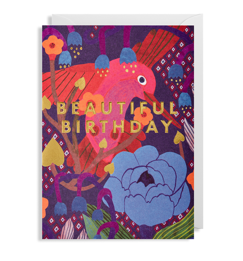 Beautiful Birthday Hummingbird - Lagom Design