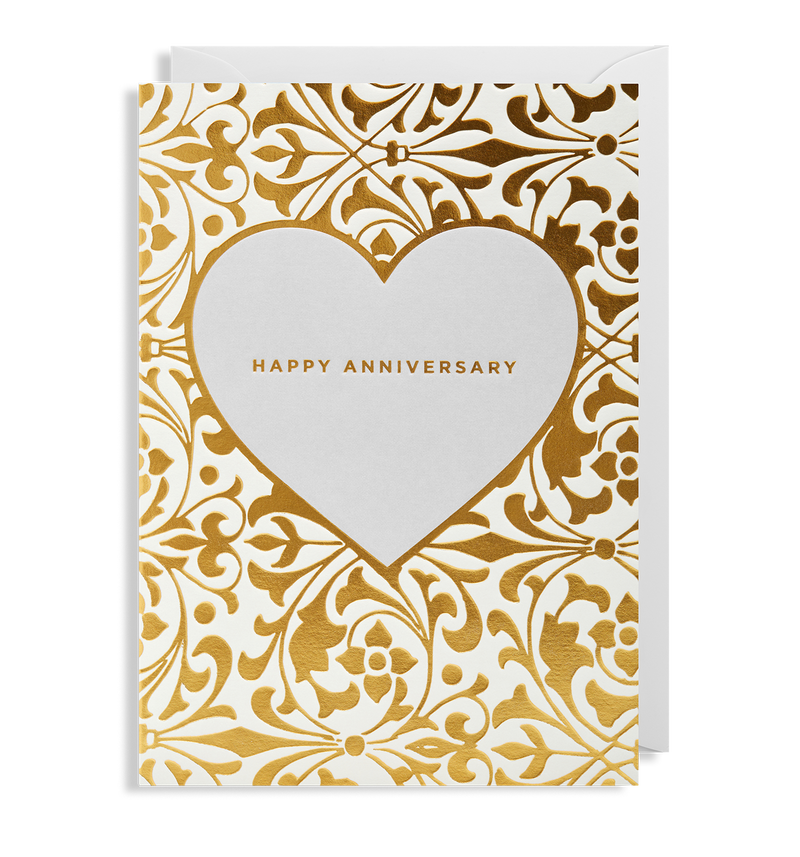 Happy Anniversary Greeting Card - Lagom Design