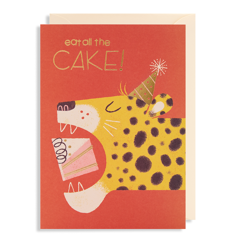 Eat All The Cake! - Lagom Design