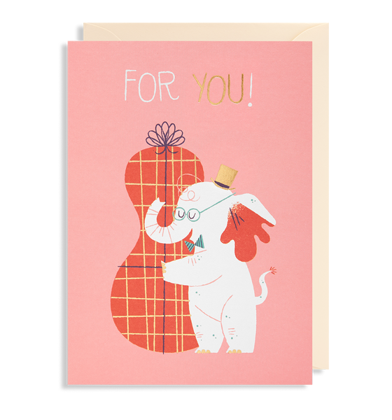 For You! Greeting Card - Lagom Design