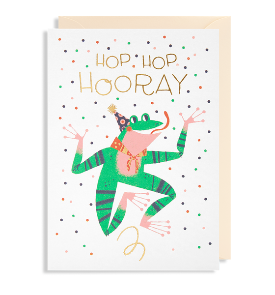 Hop Hop Hooray Greeting Card - Lagom Design