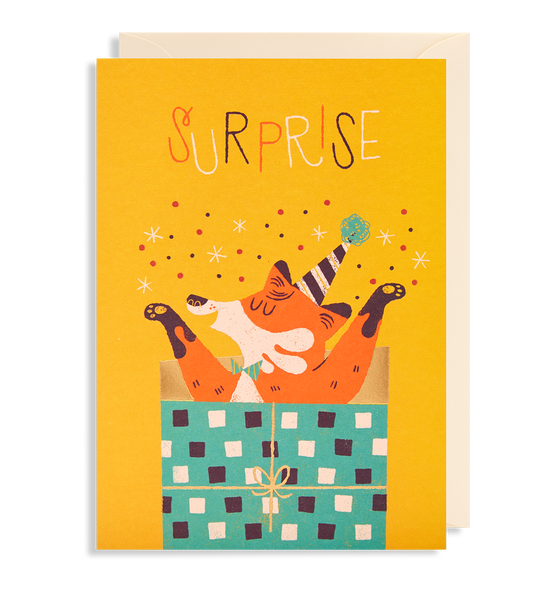 Surprise Greeting Card