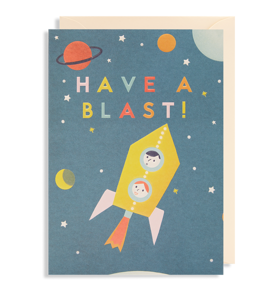 Have A Blast! Greeting Card