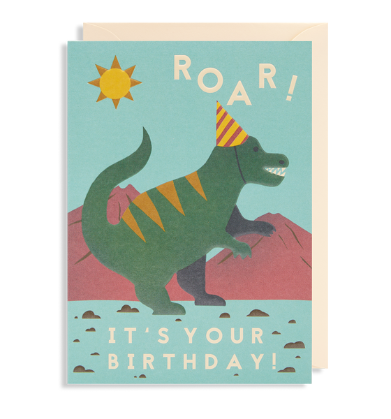 Roar! It's Your Birthday Greeting Card