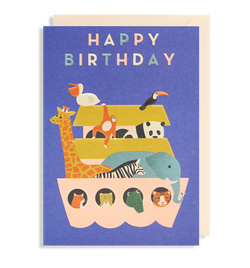 Happy Birthday Arc Greeting Card - Lagom Design