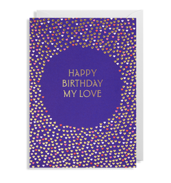 Happy Birthday My Love Greeting Card