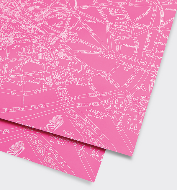 Paris Gift Wrap - Lagom Design