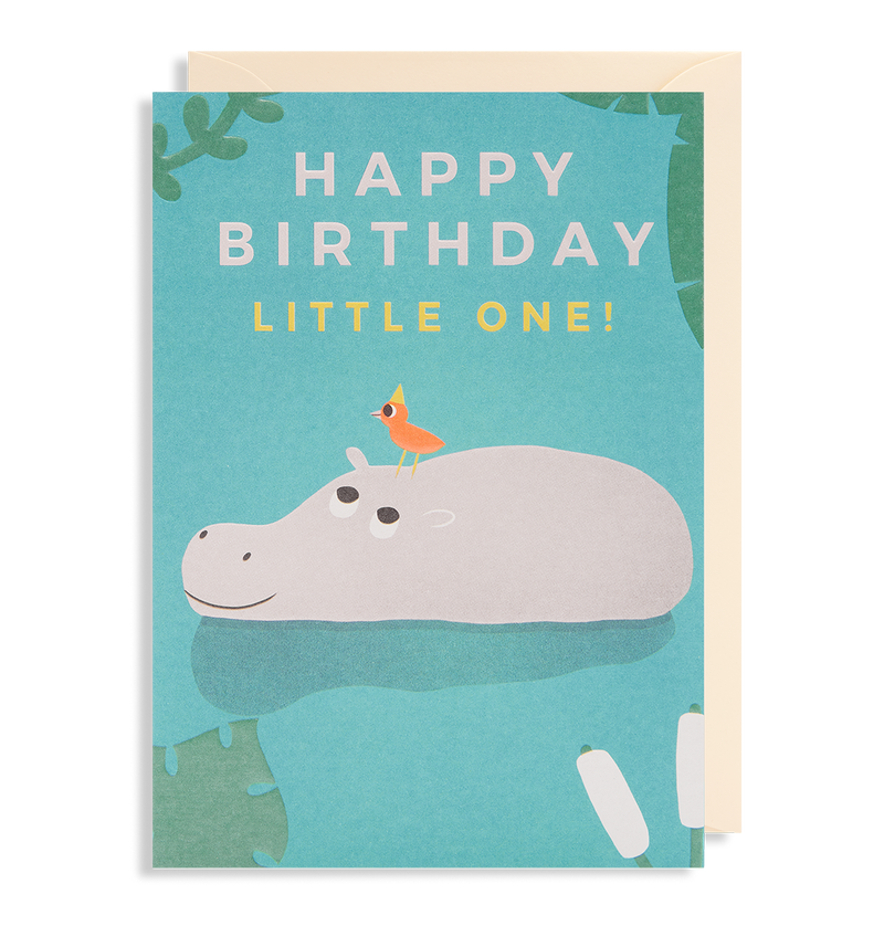 Happy Birthday Little One! Greeting Card - Lagom Design