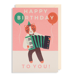 Happy Birthday To You! Greeting Card - Lagom Design