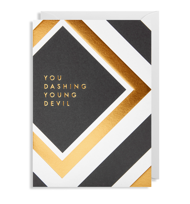 You Dashing Young Devil - Lagom Design