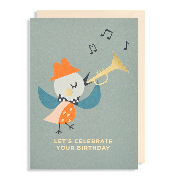 Let's Celebrate Your Birthday! Greeting Card - Lagom Design