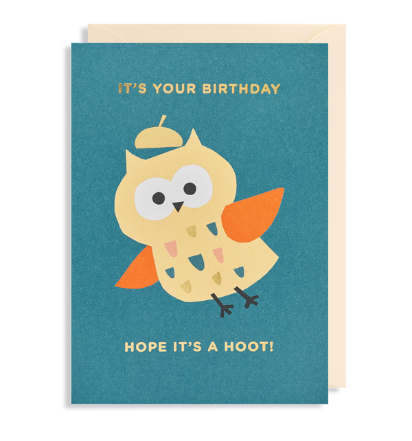 It's Your Birthday Greeting Card - Lagom Design