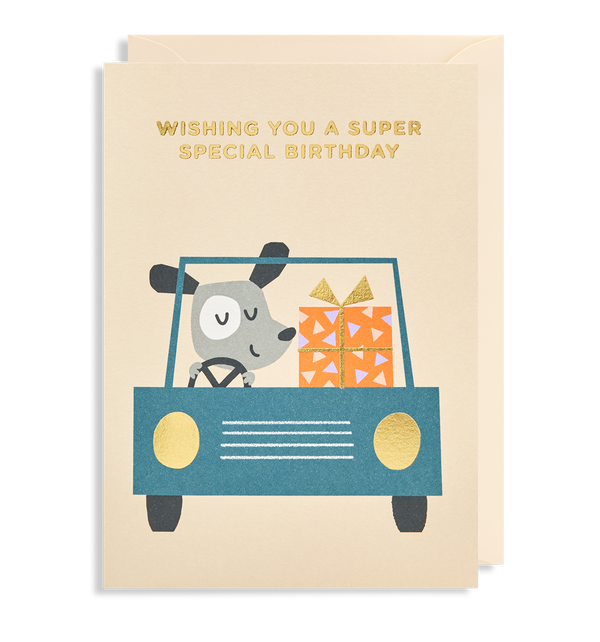 Wishing You A Super Special Birthday Greeting Card - Lagom Design