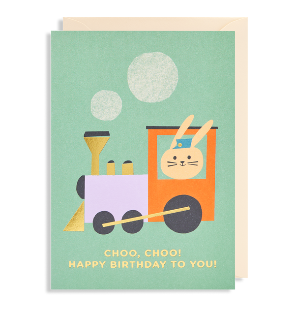 Choo, Choo! Happy Birthday To You - Lagom Design