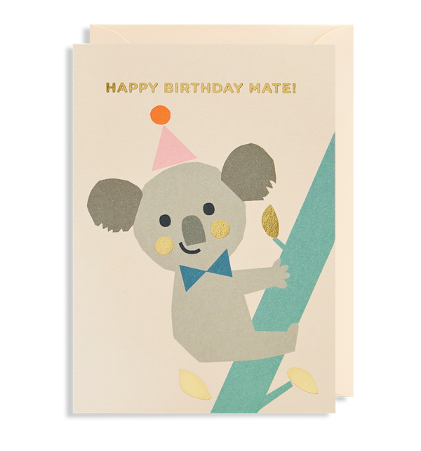 Happy Birthday Mate! Greeting Card - Lagom Design
