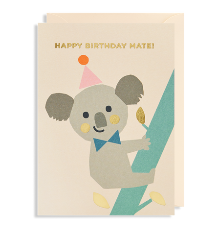 Happy Birthday Mate! Greeting Card