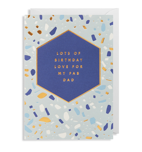 Birthday Love For My Fab Dab - Lagom Design