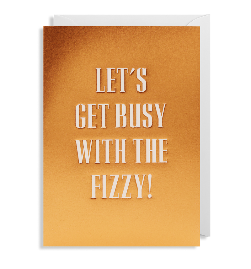 Let's Get Busy With The Fizzy! - Lagom Design