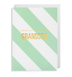 Congratulations On Your New Grandson - Lagom Design