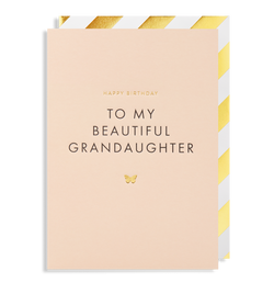 To My Beautiful Grandaughter - Lagom Design