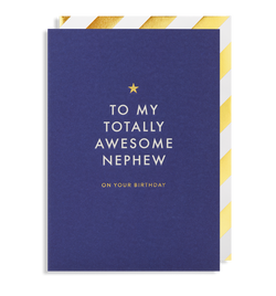 To My Totally Awesome Nephew