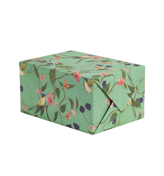 Marvellous Hummingbird Gift Wrap - Lagom Design