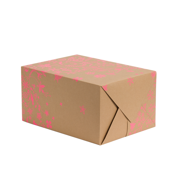 Wildflower Pink Gift Wrap - Lagom Design