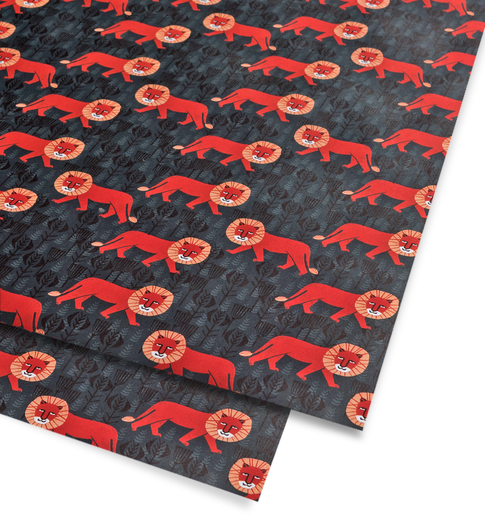 Mr Lion Gift Wrap