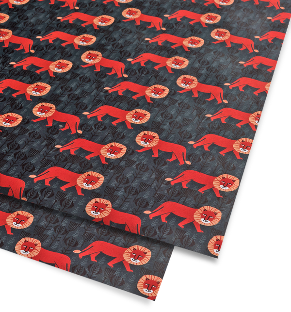 Mr Lion Gift Wrap - Lagom Design