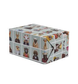 Zoo Portraits Gift Wrap - Lagom Design