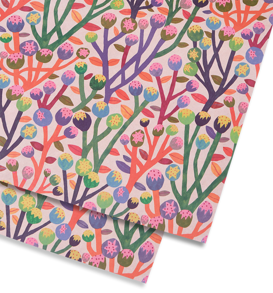 Wildflowers Gift Wrap