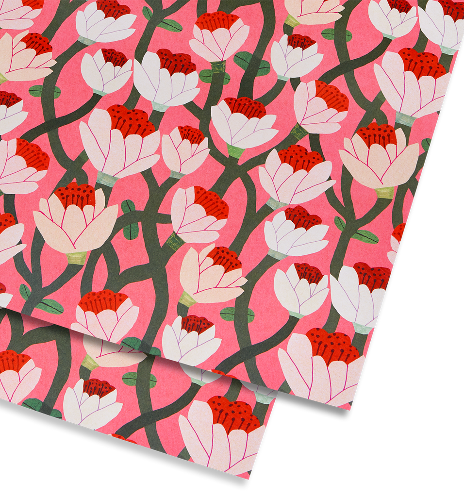 April in Paris Gift Wrap - Lagom Design
