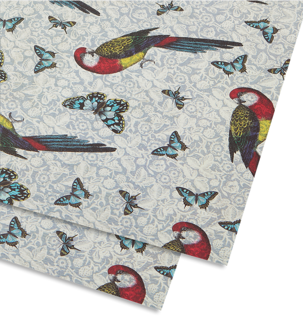 Parrot and Butterflies - Lagom Design