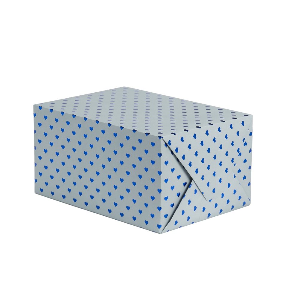 Blue Gift Wrap