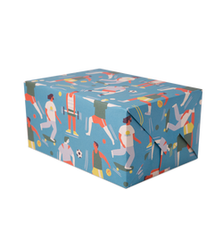 LA Beach Men Gift Wrap - Lagom Design