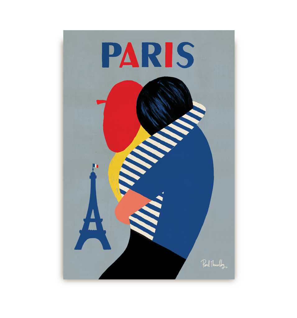Paris Postcard - Lagom Design