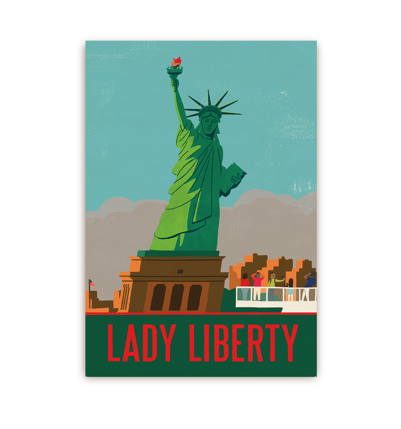 Lady Liberty - Lagom Design