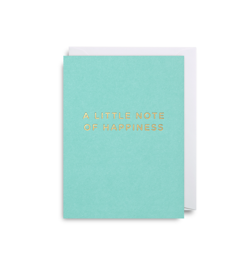 A Little Note Of Happiness - Lagom Design