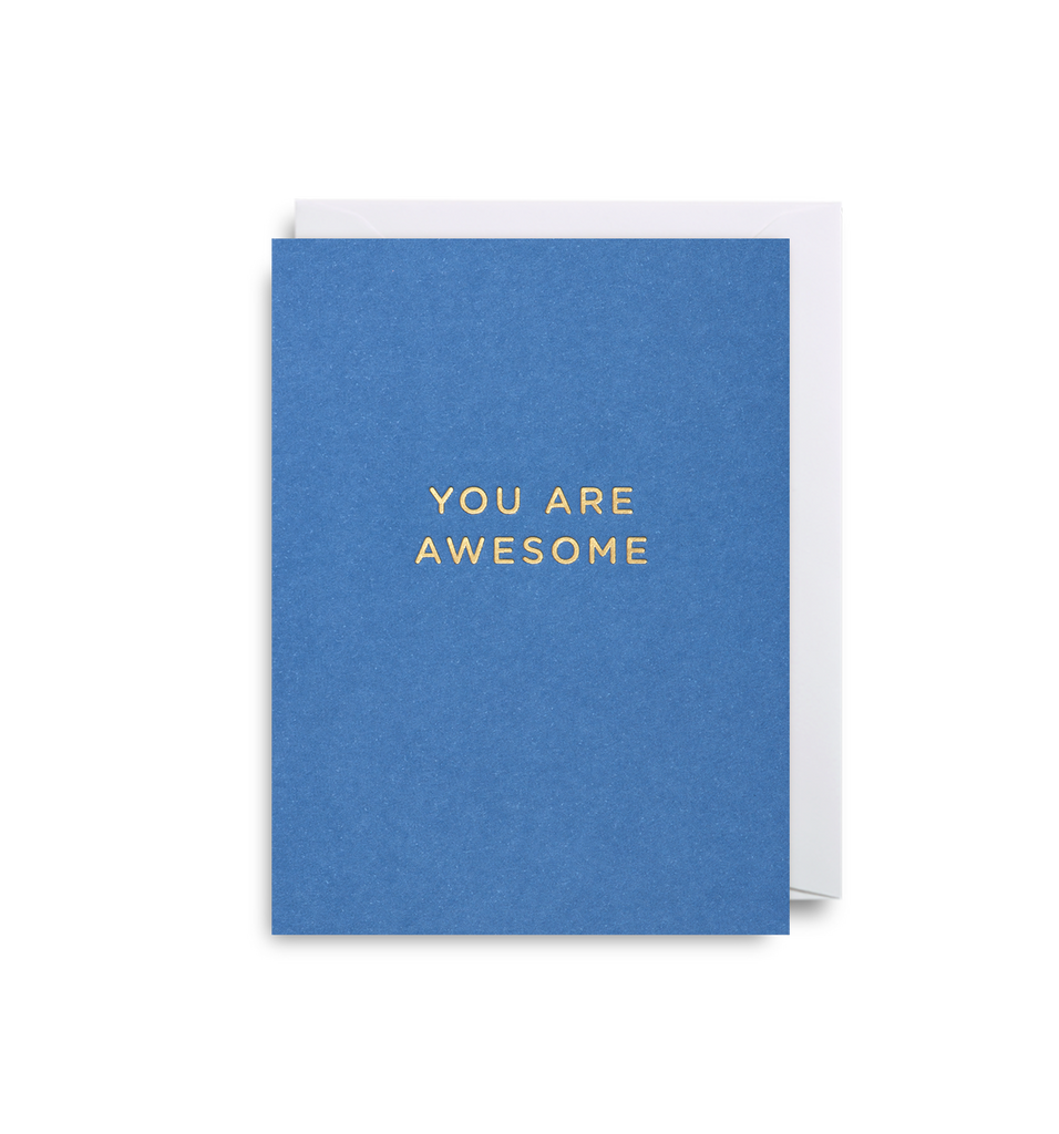 You Are Awesome Mini Card