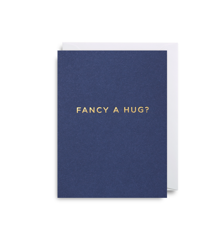 Fancy A Hug? Mini Card